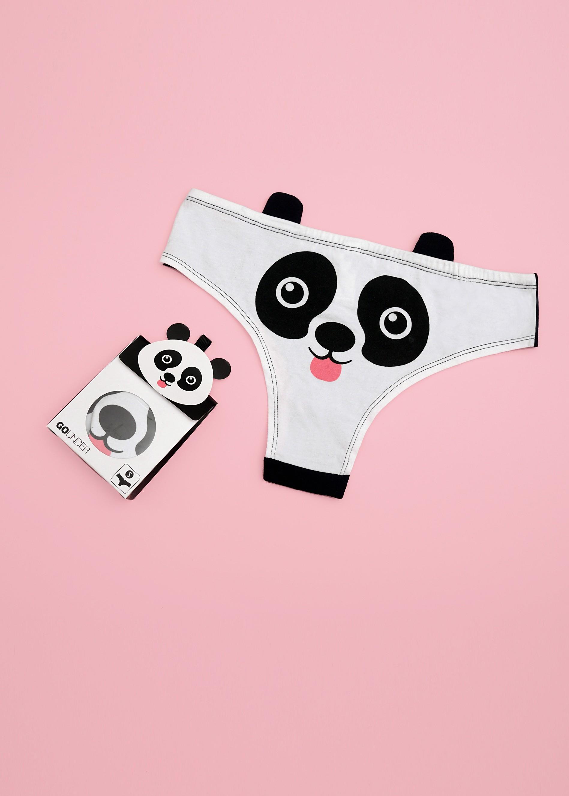 תחתון היפסטר בהדפס חיות (Panties)
