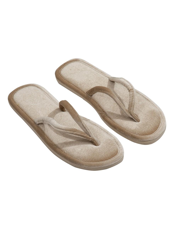 נעלי בית אצבע קטיפה