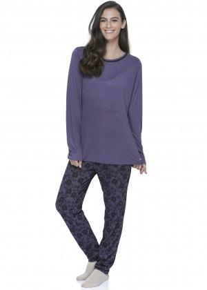 חליפת פנאי מכנס פרחוני (Pajamas)