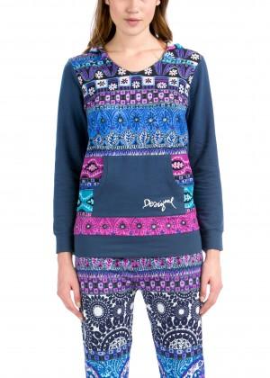 עליונית Denim Folk (עליונית בלבד) (Pajamas)