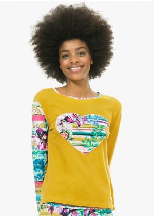 (חולצה בלבד) PASILEY BLOOM חולצת