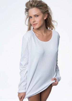 722050 חולצת פלנל ארוך נשים אפרודיטה