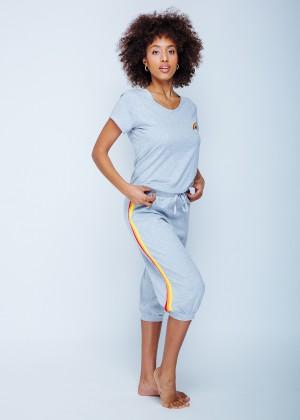 חליפת פנאי מכנס 3/4 קשת (Pajamas)