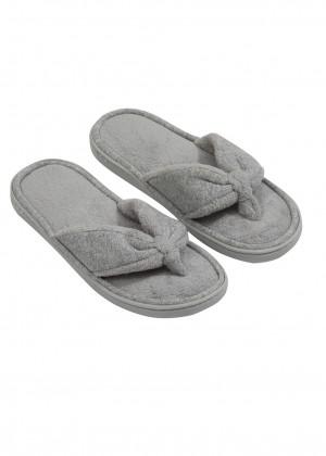 נעלי בית אצבע מגבת