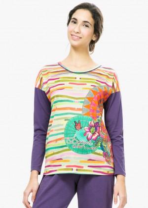 (חולצה בלבד) ROSCON TRIBAL חולצת