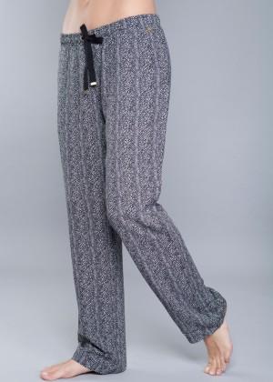 990165 PANTHERD WOVEN LONG PANTS פיגמת לאונג