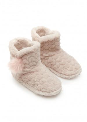 נעלי בית מגפון לבבות
