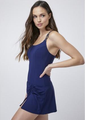 בגד ים שמלה מקרמה